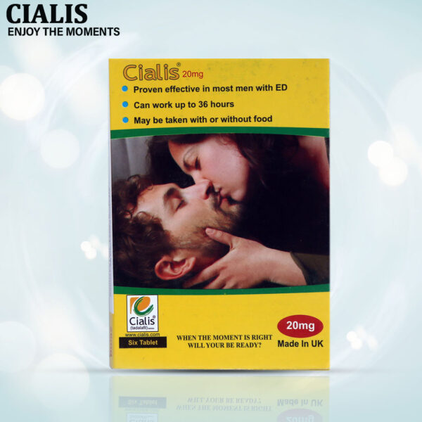 Buy Lilly Cialis 20mg 10 Tablets Pack