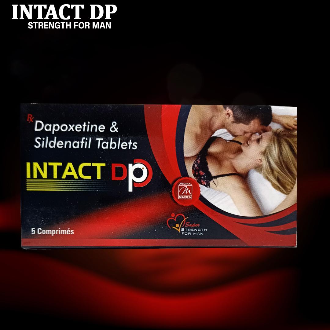 Intact Dp Dapoxetine & Sildenafil Tablets
