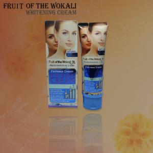 FRUIT OF THE WOKALI Whitening Cream reduces wrinkles, whitens skin tone and enhances skin glow naturally.
