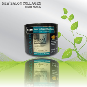 New Salon Collagen Hair Mask helps fortify and strengthen the entire hair shaft by forming a protective shield over each strand of hair. Reduces breakage and strengthens hair.