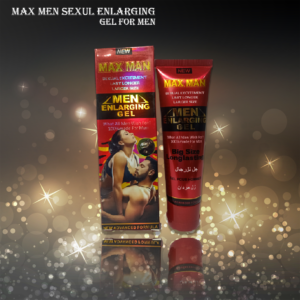 Maxman sexaul enlarging gel for men gives 3 times more efficiency to the sexual timing of men. You can satisfy your partner 5 times in a row after using it.