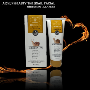 AICHUN BEAUTYTHE SNAIL FACIAL WHITENING CLEANSER reduces wrinkles, whitens skin tone and deep cleans your skin. Reduce Stress and Relieve Psychological Distress.