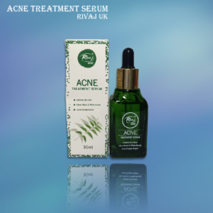 ACNE TREATMENT SERUM RIVAJ UK helps in purifying your pores of dirt, oil, sweat, and impurities. It rebalances sebum production and reduces acne.